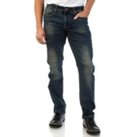 ACROSS THE POND Mens Slim Stretch Jeans