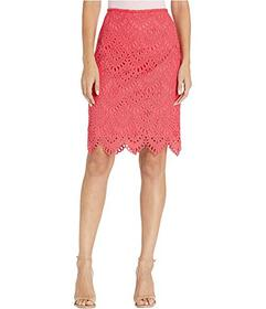 Tahari by ASL Lace Pencil Skirt