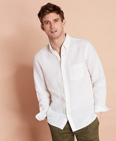 Brooks Brothers Linen-Blend Sport Shirt