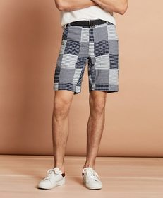 Brooks Brothers Cotton Patchwork Shorts