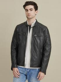 Wilsons Leather Lance Moto Leather Jacket