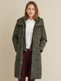 Designer Brand Puffer Walker Coat with Hood