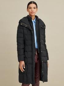 Designer Brand Hooded Walker Coat