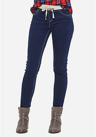 Justice Knit Waist Super Skinny Jeans