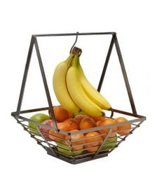 Mikasa Rustic Square Basket with Removable Banana