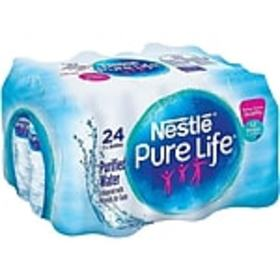 Nestle Pure Life Water, 16.9 Oz., 24/Carton (11010