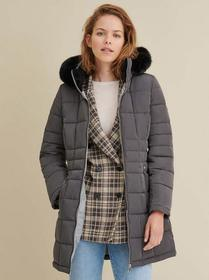 Marc New York Faux-Fur Trim Hooded Walker