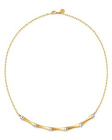 Bloomingdale's - Bamboo Collar Necklace in 14K Yel