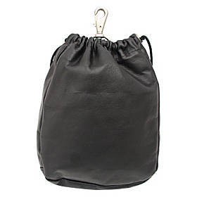 Piel Large Drawstring Pouch