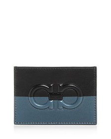 Salvatore Ferragamo - Firenze Logo Bi-Color Leathe