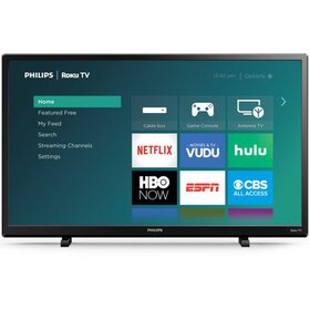"Philips 32"" Class HD (720P) Smart Roku LED TV (32P"