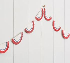 Pottery Barn Stars and Stripes Bunting Banner