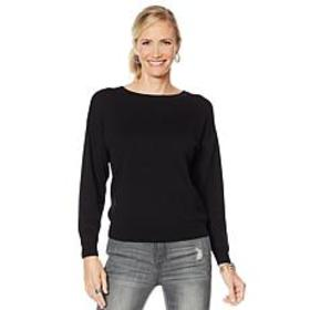 """""""As Is"""" G by Giuliana Bow Back Sweater"""