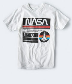 Aeropostale NASA 1981 Graphic Tee