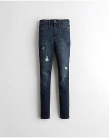 Hollister Advanced Stretch Ultra High-Rise Jean Le