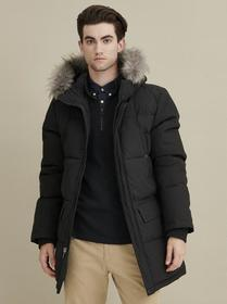 Designer Brand Faux Fur Hooded Parka