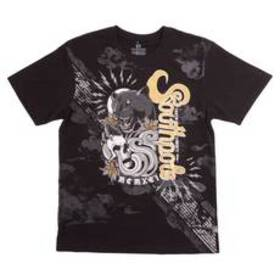 Young Mens SOUTHPOLE Panther Graphic Tee - Black