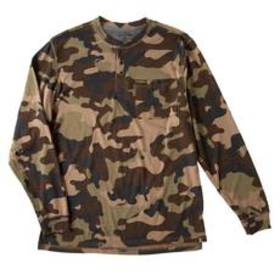 Mens Stanley Camo Print Performance 3 Button Up He