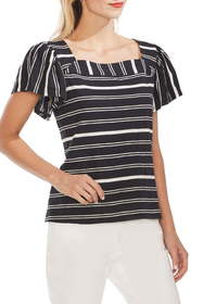 Vince Camuto Waterline Square Neck Top