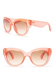kate spade new york sharlot 51mm cat eye sunglasse