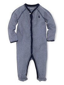 Ralph Lauren Childrenswear Baby Boy's Striped Cott