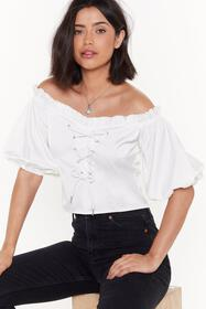 Nasty Gal Womens White Resting Bitch Lace Satin Cr