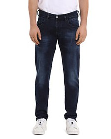 Diesel - Bazer Straight Slim Fit Jeans in Denim