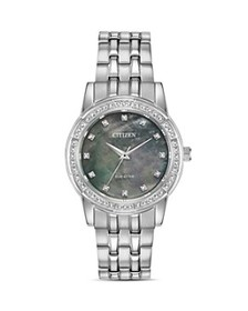 Citizen - Silhouette Crystal-Embellished Watch, 31