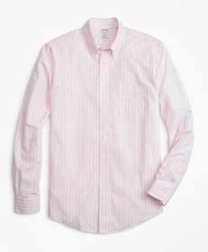 Brooks Brothers Non-Iron Regent Fit Wide Stripe Sp