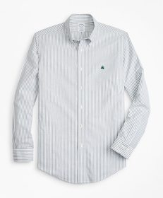 Brooks Brothers Non-Iron Regent Fit Oxford Stripe