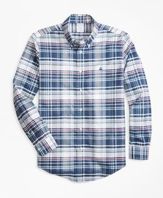 Brooks Brothers Non-Iron Madison Fit Bold Plaid Sp