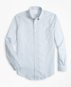 Brooks Brothers Non-Iron Madison Fit Gingham Sport