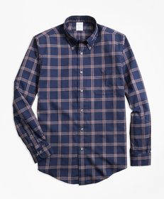 Brooks Brothers Regent Fit BB#1 Windowpane Flannel