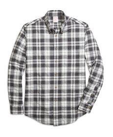 Brooks Brothers Madison Fit Flannel Heathered Mult