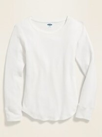 Thermal-Knit Long-Sleeve for Girls