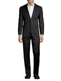 Calvin Klein Extra Slim-Fit Wool-Blend Suit BLACK