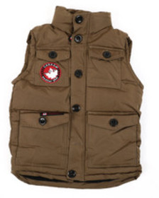Arcade Styles canadian weather gear puffer vest (8