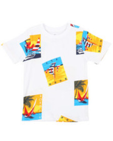 Born Fly all over printed tee (4-7)