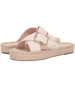 J.Crew Buckle Cross Espadrille Slide