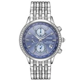 CITIZEN Citizen Eco-Drive Womens Diamond Bezel Wor