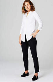 Cotton-Stretch Layering Shirt