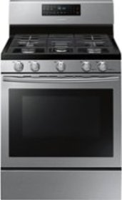 Samsung - 5.8 Cu. Ft. Self-Cleaning Freestanding G