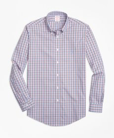 Brooks Brothers Non-Iron Madison Fit Three-Color G
