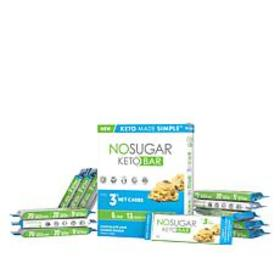 No Sugar Keto Bars 12-pack Chocolate Chip Cookie D