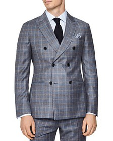 REISS - Glover Flannel Slim Fit Blazer