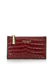 kate spade new york - Sylvia Croc-Embossed Slim Bi