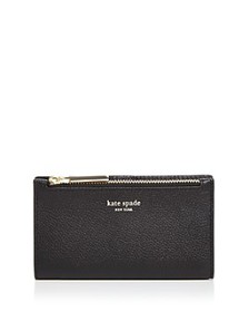 kate spade new york - Small Slim Leather Bifold Wa