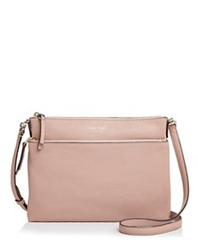 kate spade new york - Medium Pebbled Leather Cross