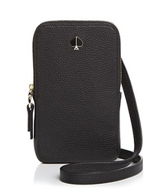 kate spade new york - Polly Leather Phone Crossbod