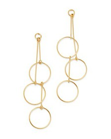 Bloomingdale's - Cascading Circle Drop Earrings in